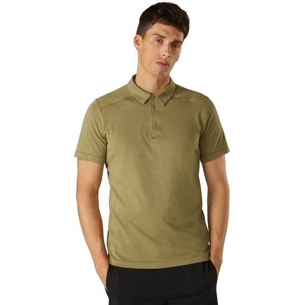 アークテリクス メンズ シャツ トップス Eris Polo Shirt - Men's Taxus