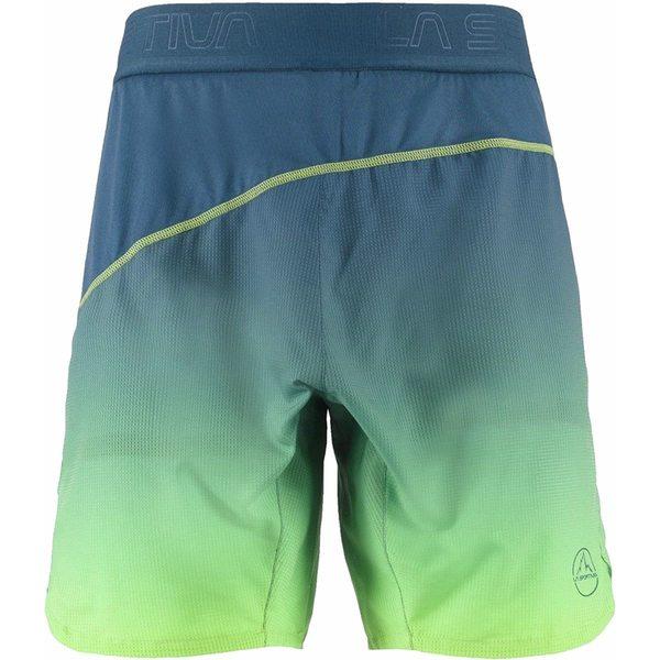 ラスポルティバ メンズ ハーフ&ショーツ ボトムス Medal Short - Men's Opal/Apple Green