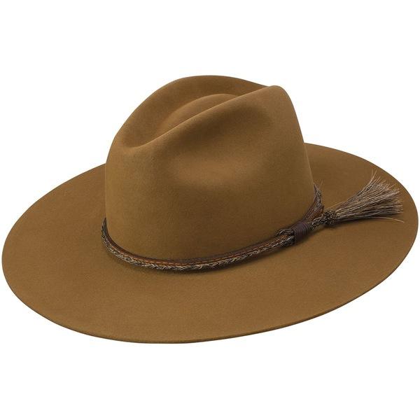 ステトソン メンズ 帽子 アクセサリー Weltmeyer Hat Chestnut