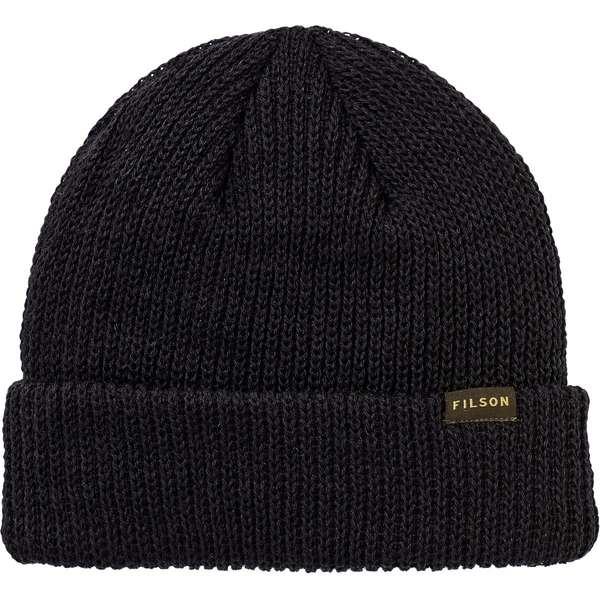 フィルソン メンズ 帽子 アクセサリー Watch Beanie - Men's Black