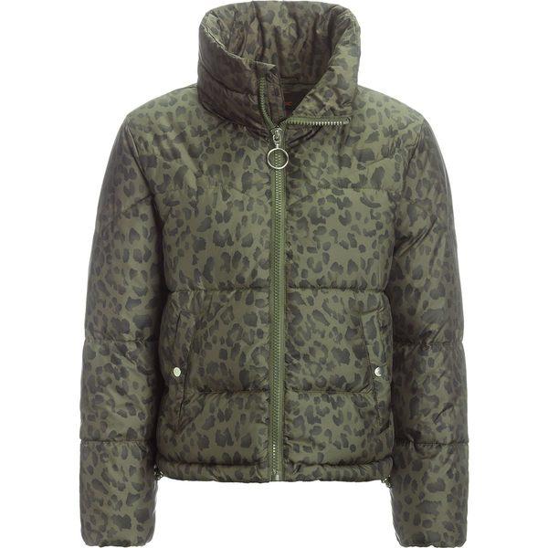 ストイック レディース ジャケット&ブルゾン アウター Printed Cropped Insulated Puffer Jacket - Women's Leopard