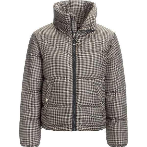 ストイック レディース ジャケット&ブルゾン アウター Printed Cropped Insulated Puffer Jacket - Women's Plaid