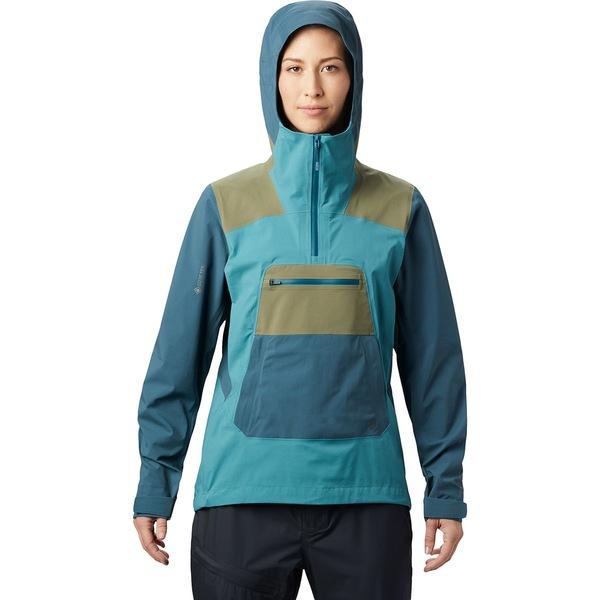 マウンテンハードウェア レディース ジャケット&ブルゾン アウター Exposure/2 Gore-Tex Paclite Stretch Pullover - Women's Washed Turq