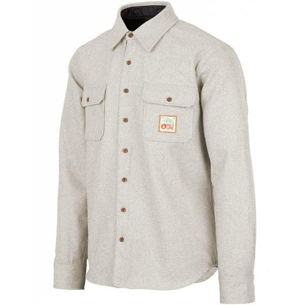 ピクニックオーガニック メンズ シャツ トップス Colton Shirt - Men's Grey Melange