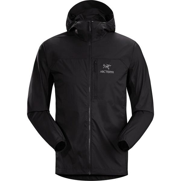 アークテリクス メンズ ジャケット&ブルゾン アウター Squamish Hooded Jacket - Men's Black