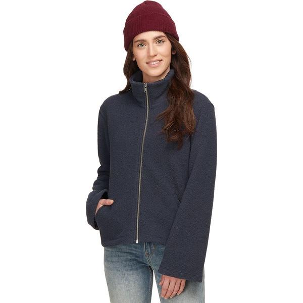 ベイスンアンドレンジ レディース ジャケット&ブルゾン アウター Cozy Fleece Full-Zip Jacket - Women's Navy