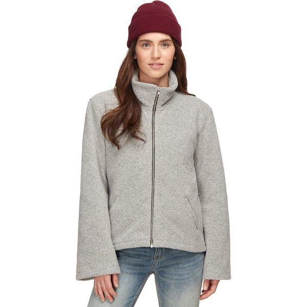 ベイスンアンドレンジ レディース ジャケット&ブルゾン アウター Cozy Fleece Full-Zip Jacket - Women's Gray