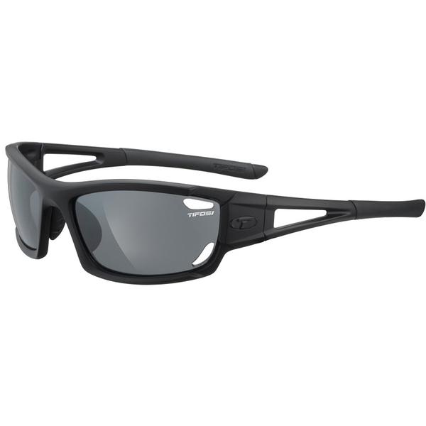 テフォシー メンズ サングラス・アイウェア アクセサリー Dolomite 2.0 Sunglasses Matte Black/Smoke-AC Red-Clear