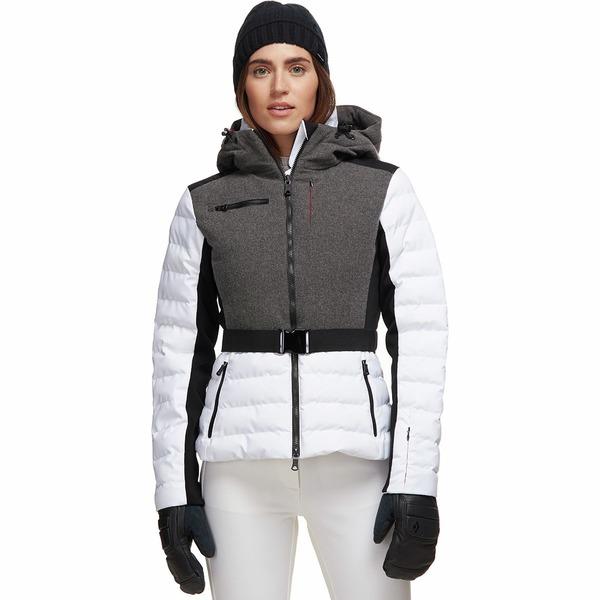 エリンスノウ レディース ジャケット&ブルゾン アウター Kat Sporty/Merino Jacket - Women's Heather/Snow