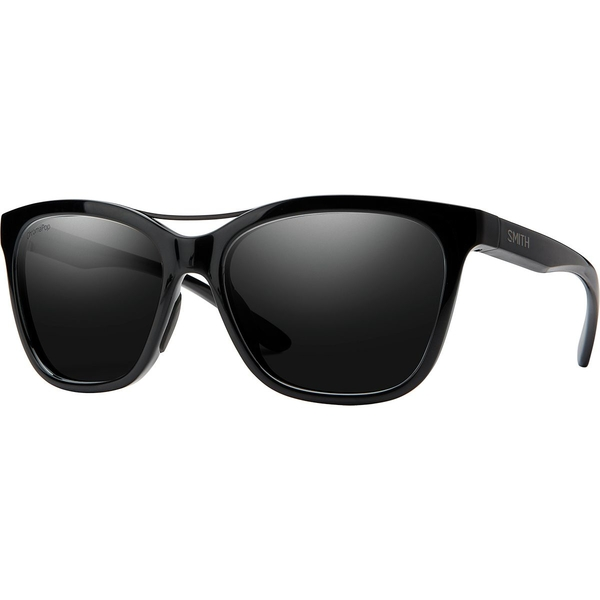 スミス メンズ サングラス・アイウェア アクセサリー Cavalier Chromapop Polarized Sunglasses Black Frame/Black Polarized