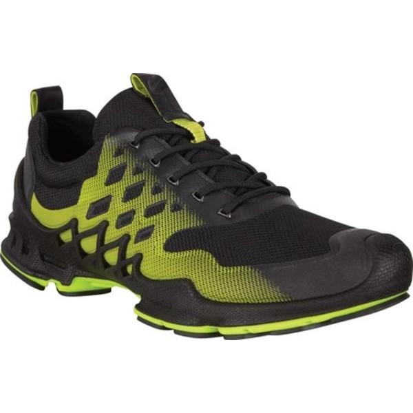 エコー メンズ シューズ スニーカー Black Lime Punch Low Sneaker Textile 大人気 好評 全商品無料サイズ交換 BIOM Men's Aex