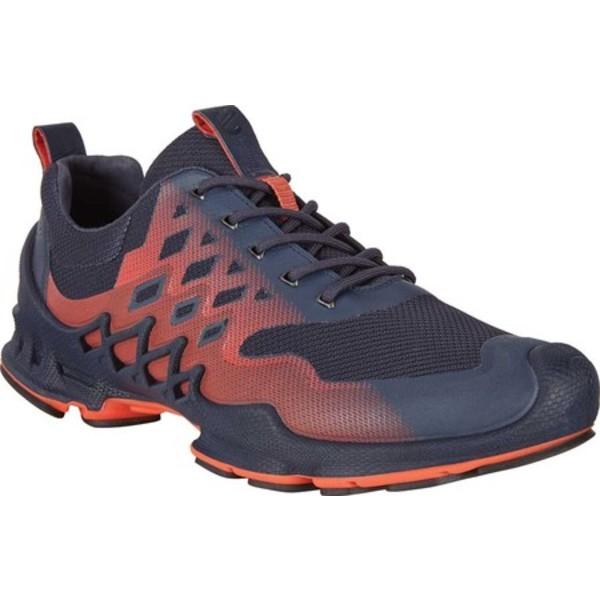 エコー メンズ シューズ スニーカー Marine Fire Textile 再入荷 新色追加 予約販売 Aex Men's Low BIOM Sneaker 全商品無料サイズ交換