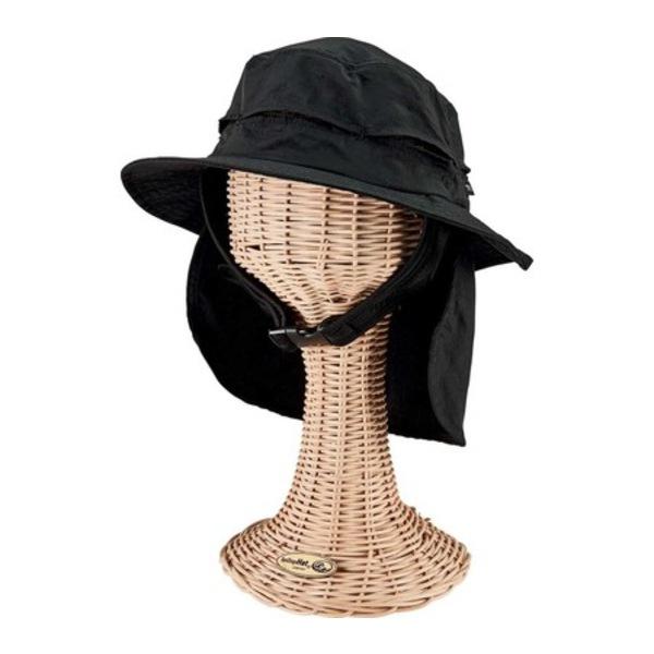 サンディエゴハット メンズ アクセサリー 帽子 祝日 Black 供え 全商品無料サイズ交換 Cut Sew Men's Bucket Chin Strap OCM4804 Hat with