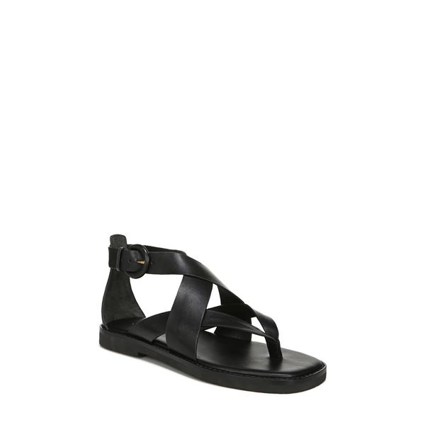 ヴィンス レディース サンダル シューズ Morris Strappy Flat Sandal Black