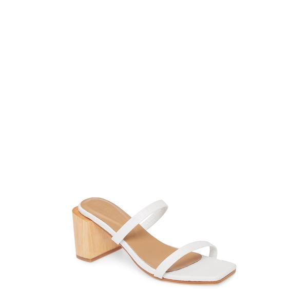 ジャイムススミス レディース サンダル シューズ Sirenuse Slide Sandal White Croc