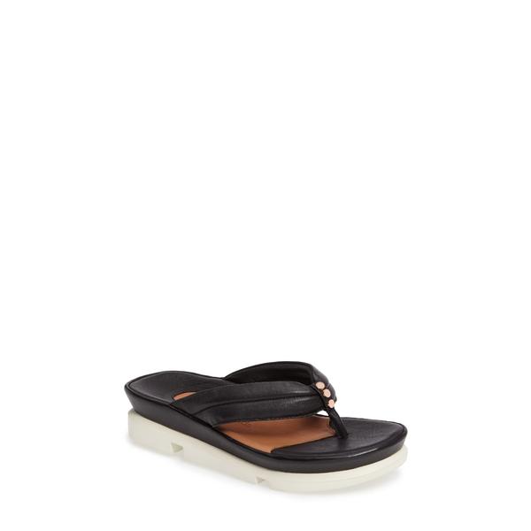 ラモールドピード レディース サンダル シューズ Villapapavero Sandal Black Nappa Leather