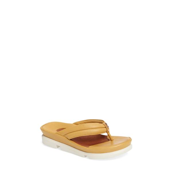 ラモールドピード レディース サンダル シューズ Villapapavero Sandal Mustard Nappa Leather