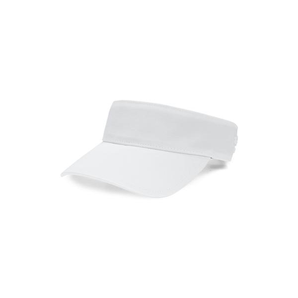 ラグアンドボーン レディース ヘアアクセサリー アクセサリー Embroidered Logo Nylon Visor White