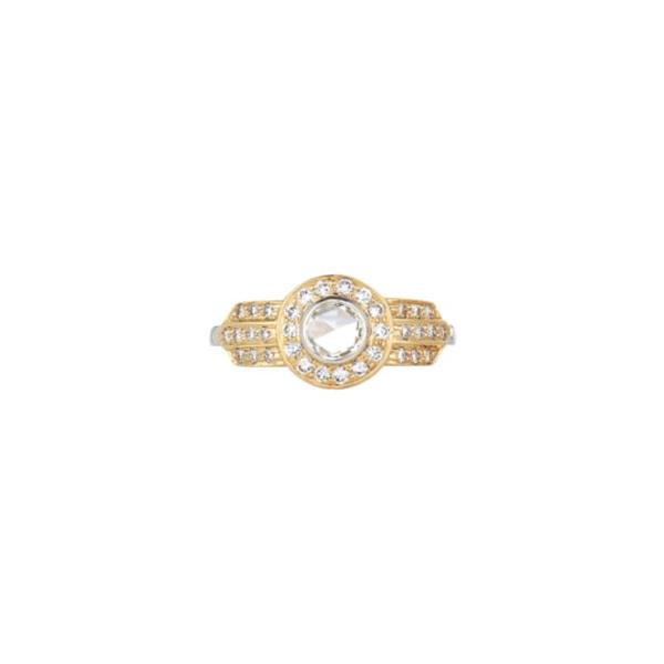 セチクチュール レディース リング アクセサリー Mira Diamond Ring Yellow White Gold/ Diamond