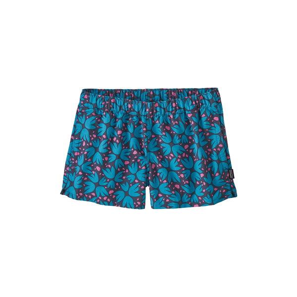 パタゴニア レディース カジュアルパンツ ボトムス Barely Baggies Shorts Dolomite Blue
