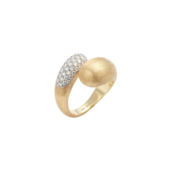 マルコ ビチェゴ レディース リング アクセサリー Lucia Diamond Wraparound Ring Yellow Gold/ White Gold