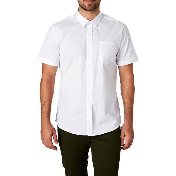 セブンダイヤモンド メンズ シャツ トップス City Savior Woven Shirt White