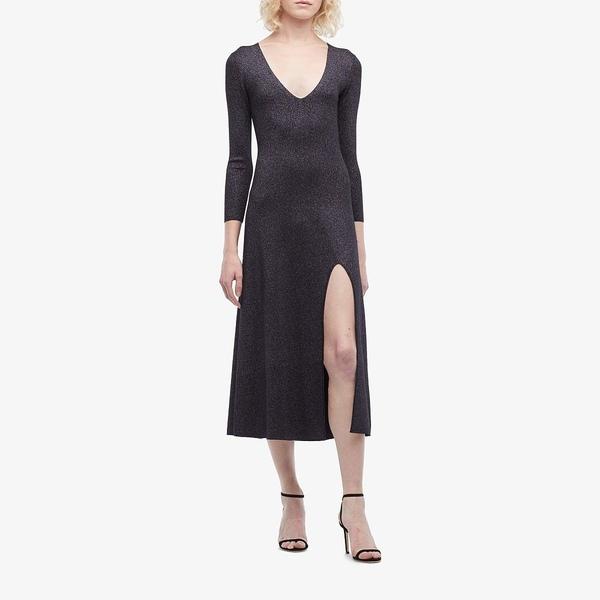 エーエルシー レディース ワンピース トップス Serafina Dress Black/Lavender