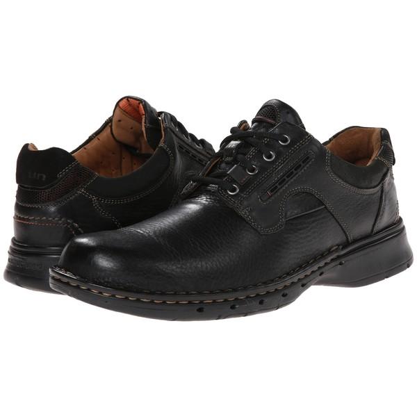 クラークス メンズ ドレスシューズ シューズ Un.ravel Black Leather