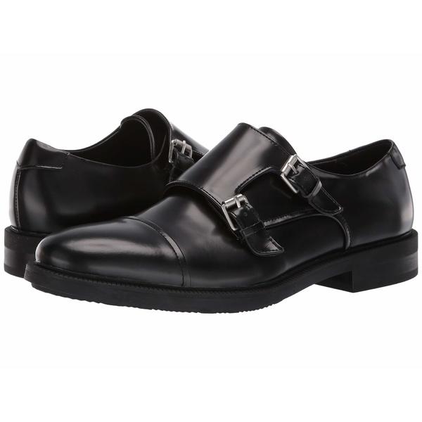 カルバンクライン メンズ ドレスシューズ シューズ Candon Black Box Leather