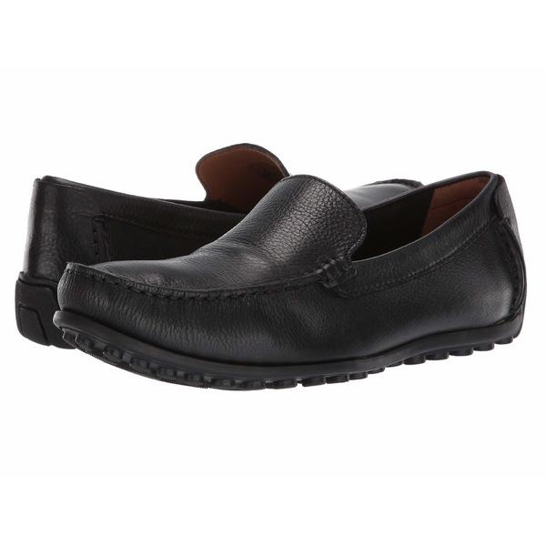 クラークス メンズ スリッポン・ローファー シューズ Hamilton Free Black Leather