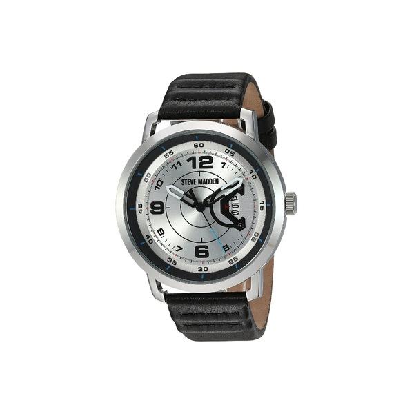 スティーブ マデン メンズ 腕時計 アクセサリー SMW141 Black