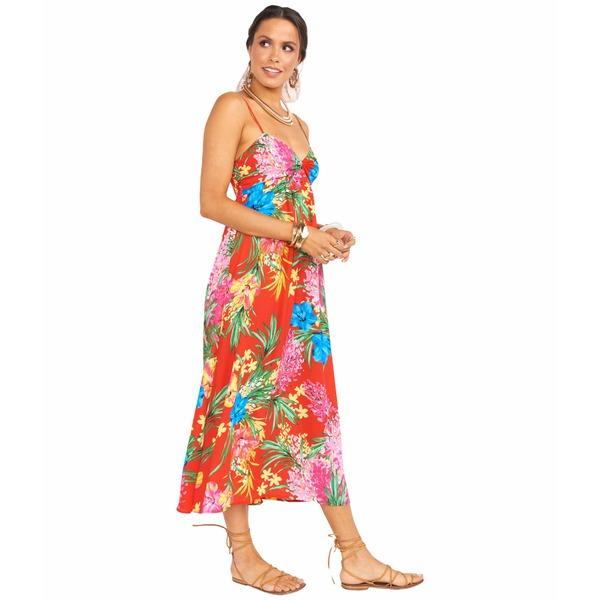 ウミーユアムーム レディース ワンピース トップス Magnolia Midi Dress Tropical Tango
