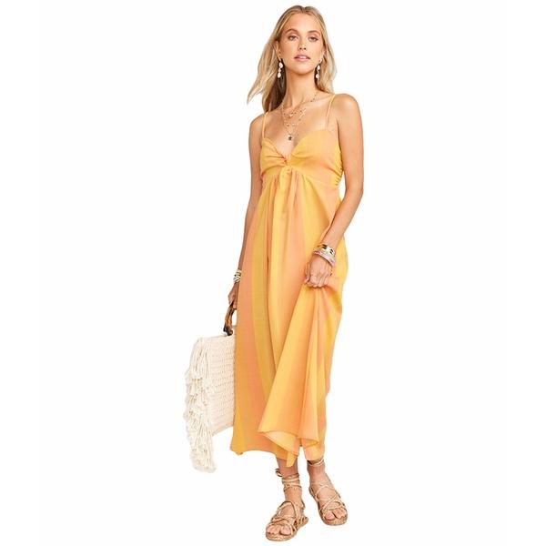 ウミーユアムーム レディース ワンピース トップス Magnolia Midi Dress Sunkissed Stripe