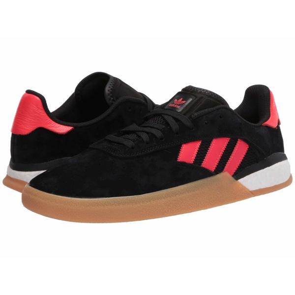 アディダス メンズ スニーカー シューズ 3ST.004 Core Black/Solar Red/Footwear White