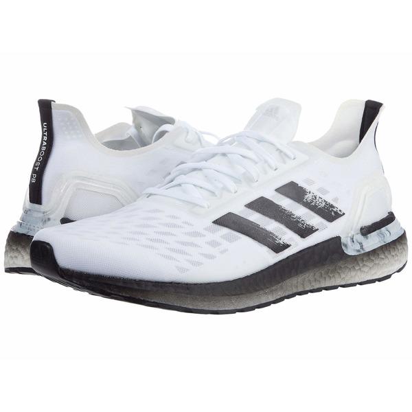 アディダス メンズ スニーカー シューズ Ultraboost PB White/Black/Dash Grey