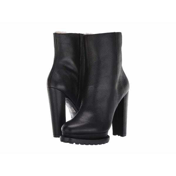 アリス アンド オリビア レディース ブーツ&レインブーツ シューズ Holden Shearling Boot Black