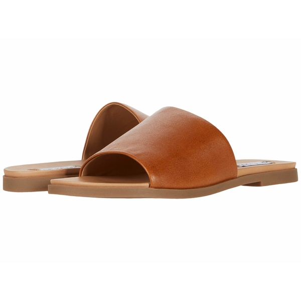 スティーブ マデン レディース サンダル シューズ Karolyn Sandal Cognac Leather
