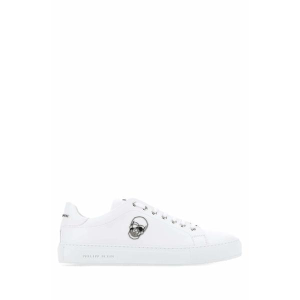 フィリッププレイン メンズ シューズ スニーカー 販売実績No.1 - 全商品無料サイズ交換 Low-Top Skull Sneakers Plein 選択 Philipp Pin