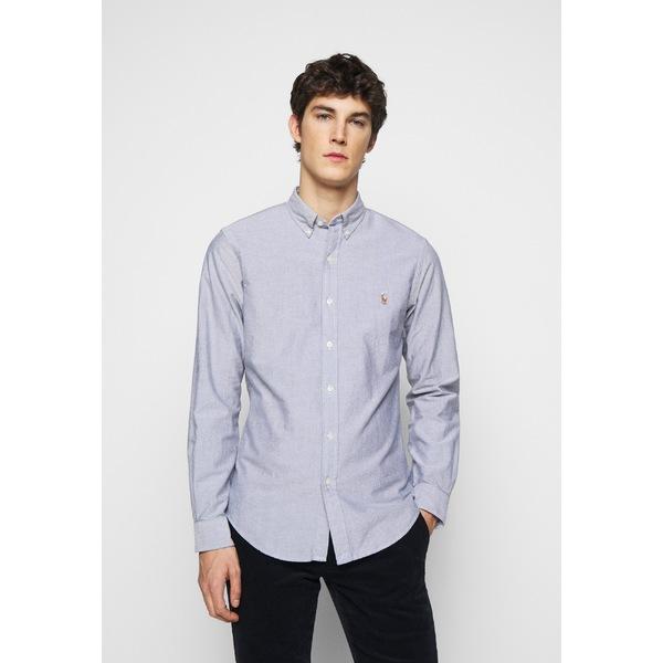ラルフローレン メンズ トップス シャツ slate 全商品無料サイズ交換 - 爆買いセール cvsb009d Shirt 宅配便送料無料 OXFORD