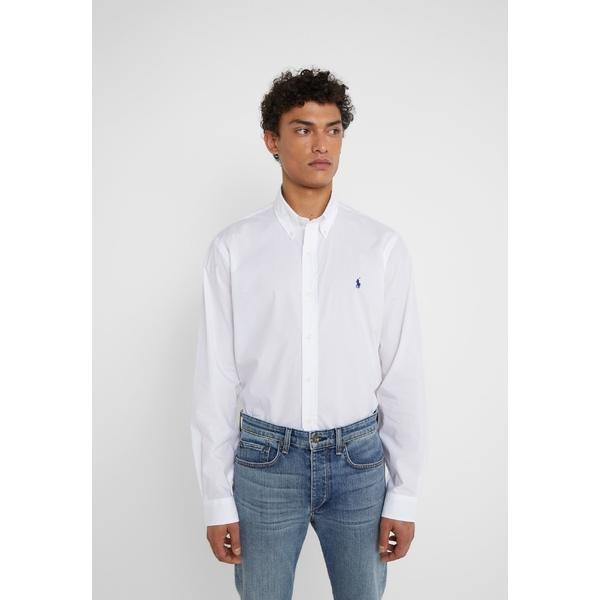 ラルフローレン メンズ 記念日 トップス シャツ white 全商品無料サイズ交換 Shirt 蔵 FIT cvsb00aa CUSTOM -