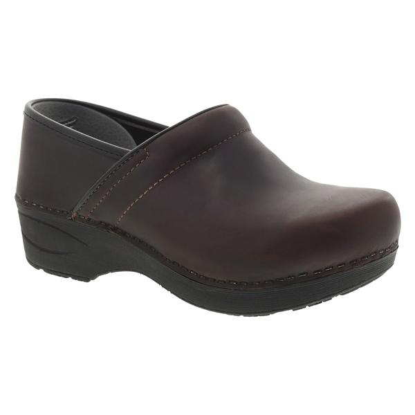 ダンスコ レディース サンダル シューズ Dansko Pro XP 2.0 Clog (Women) Brown Waterproof Leather