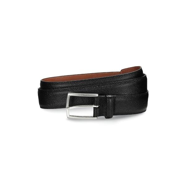 アレン エドモンズ メンズ ベルト アクセサリー Allen Edmoinds Hara Avenue Leather Belt Black
