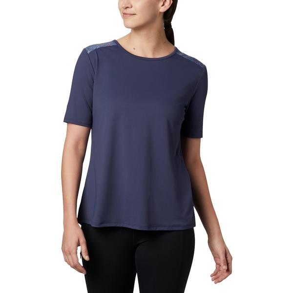 コロンビア レディース シャツ トップス Columbia Women's Chill River T-Shirt NewMint/Print