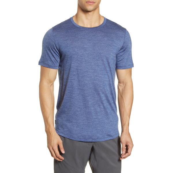 アイスブレーカー メンズ シャツ トップス Cool-Lite Sphere Runner's T-Shirt Estate Blue Heather