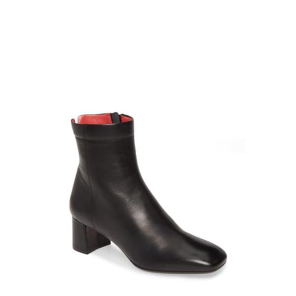 パスデルージュ レディース ブーツ&レインブーツ シューズ Chantal Leather Bootie Black Leather