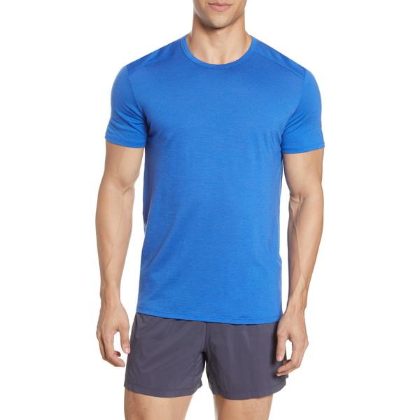 アイスブレーカー メンズ シャツ トップス Amplify Crewneck T-Shirt Lapis
