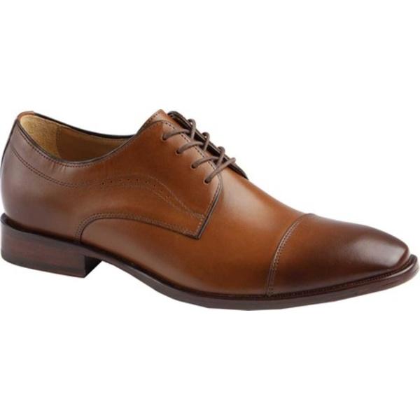 ジョンストンアンドマーフィー メンズ シューズ ドレスシューズ Tan Full Grain Oxford Men's 好評受付中 全商品無料サイズ交換 Cap 当店は最高な サービスを提供します Leather McClain Toe