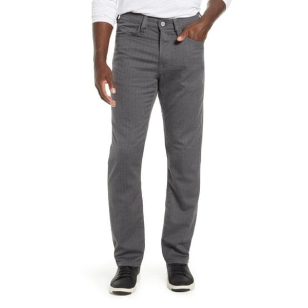 34ヘリテージ メンズ カジュアルパンツ ボトムス Charisma Herringbone Relaxed Fit Pants Grey Chevron