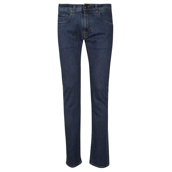 エトロ メンズ デニムパンツ ボトムス Etro Slim Jeans Blue