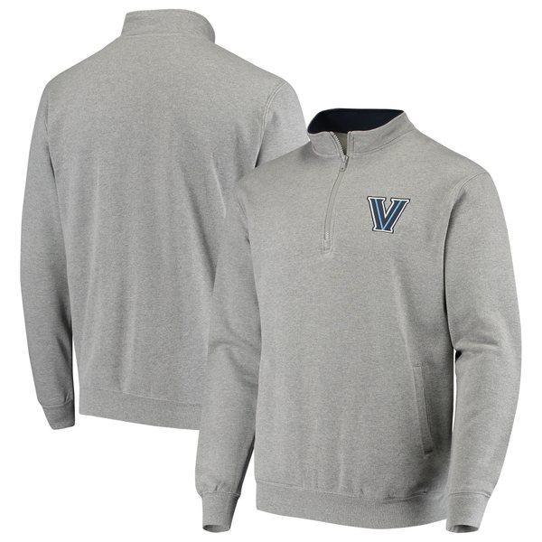コロシアム メンズ ジャケット&ブルゾン アウター Villanova Wildcats Colosseum Tortugas Logo QuarterZip Jacket Navy